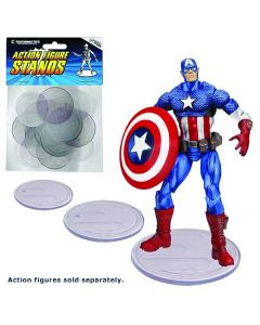Action Figure Display Stands clear