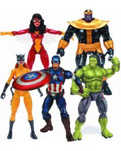 Marvel Legends Infinite Thanos Ser.  Hellcat